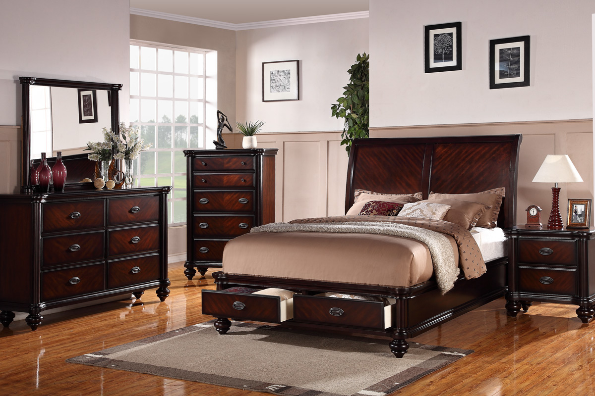 The 7pc Natalie bedroom collection