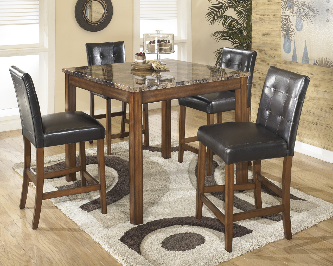Admirable The Theo Counter Height Dining Collection Uwap Interior Chair Design Uwaporg