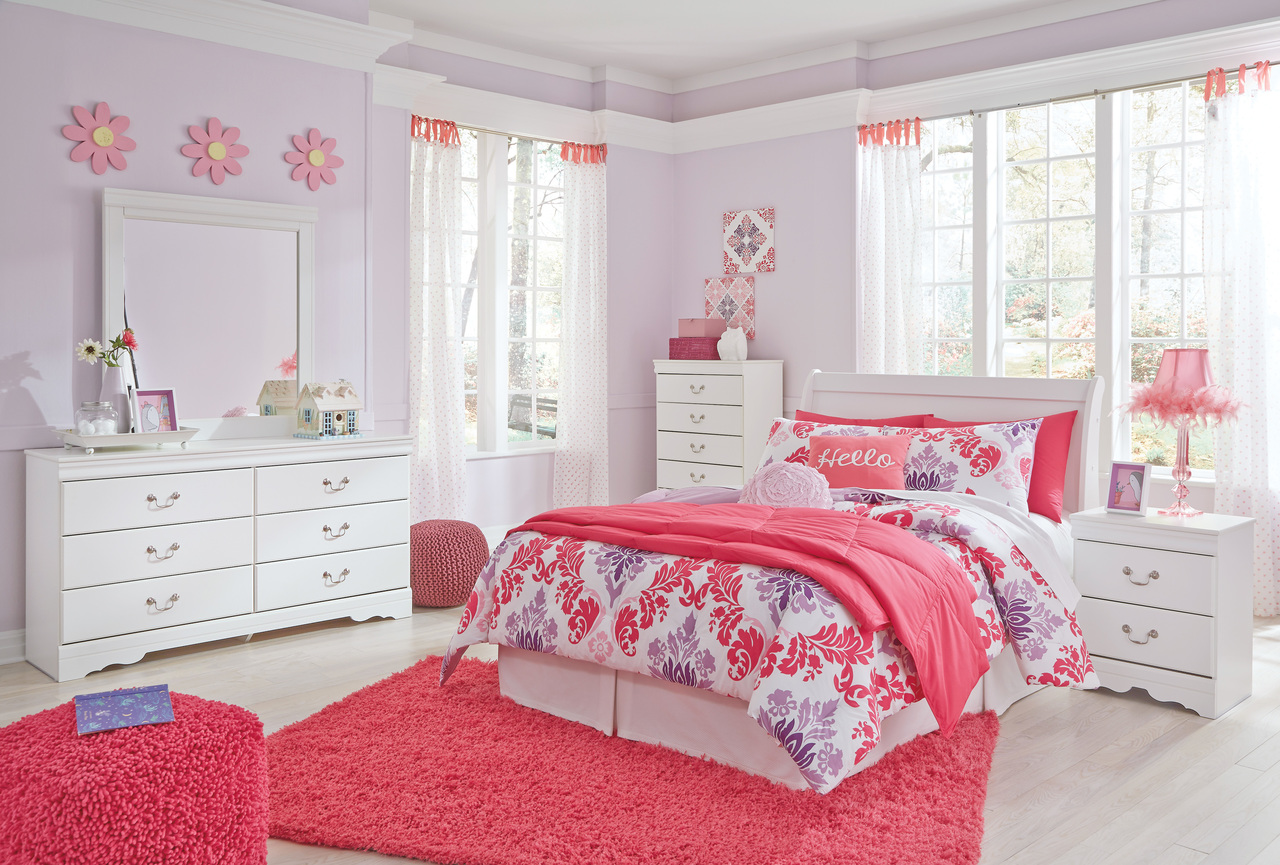 The 4pc Anarasia Youth Bedroom Collection Miami Direct Furniture