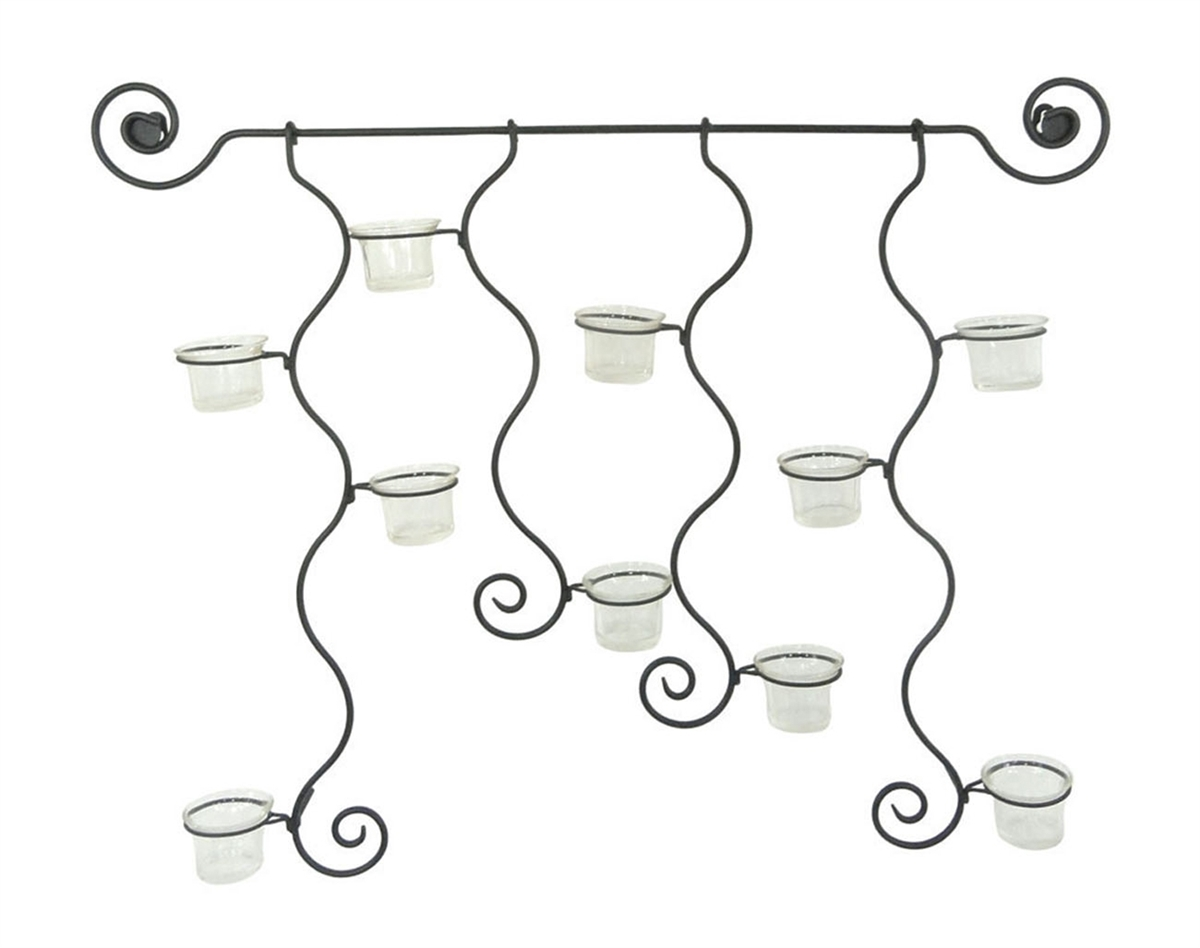 Metal Candle Holder Wall Decor Miami Direct Furniture