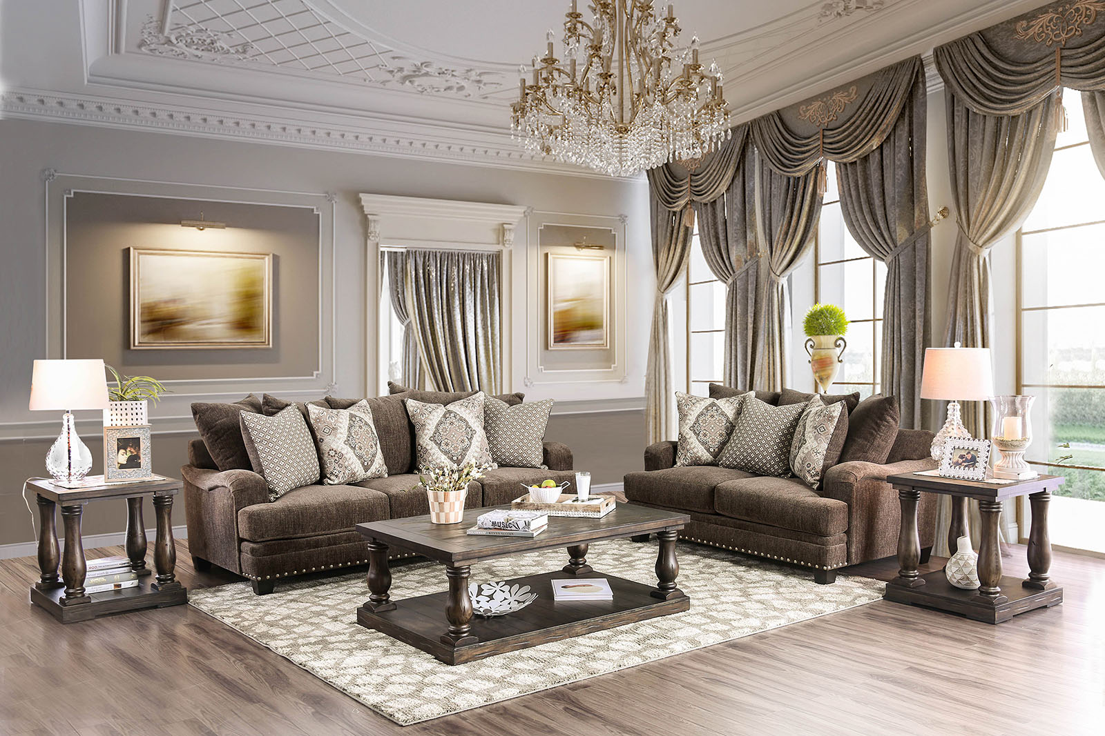 Dark Color Schemes For Living Rooms   Marvelous House