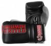 Triumph United Death Star Black Lace Up Pro Boxing Gloves