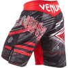 Venum ALL FALGS Black/Red Fight Shorts