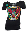 Affliction Cain Velasquez Heritage UFC 180 Womens Shirt