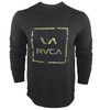 RVCA Vamo Crewneck Black Camo Sweatshirt
