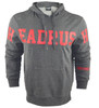 Headrush Cross Over Pullover Hoodie Side