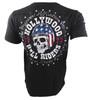 Affliction Devil's Canyon V-Neck Henley Shirt