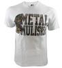 Metal Mulisha Lockup White Shirt front