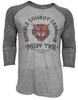 "Donald ""Cowboy"" Cerrone Muay Thai Tiger Raglan Shirt"