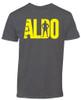 Jose Aldo UFC 189 Fighter Lettering T-Shirt Front