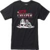 RVCA Grim Creeper Shirt Black