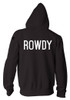 UFC Ronda Rousey Walkout Hoodie Back