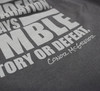 UFC Conor McGregor Charcoal Humility Shirt
