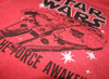 Star Wars The Force Awakens Millennium Falcon Outline Shirt