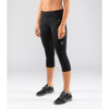 Virus Women's Power Tech Crop Pant (ECo24) Black front