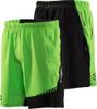 Virus Men's Origin Active Shorts (ST3) Green/Black