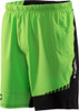 Virus Men's Origin Active Shorts (ST3) Green/Black front