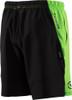 Virus Men's Origin Active Shorts (ST3) Green/Black back