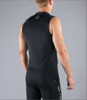 Virus Men's Stay Cool Sleeveless Compression V-Neck Tank Top