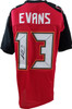 Mike Evans Autographed Jersey JSA Authenticated, Tampa Bay Bucaneers