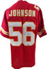 Derrick Johnson Autographed Jersey JSA Authenticated