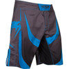 Venum Predator Fight Shorts Black/Cyan