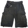 Mens Casual Cargo Shorts with Belt