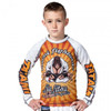 Tatami Kids Zen Gorilla Long Sleeve Rash Guard front