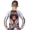 Tatami Kids Zen Gorilla Long Sleeve Rash Guard back