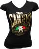 Canelo Alvarez Power Women's V-Neck Shirt