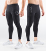 Virus Bioceramic™ Stealth Pinstripe Compression V2 Tech Pants (Au9.5) Black on Black