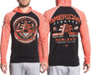 American Fighter Wyoming L/S Pullover Raglan Hoodie