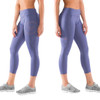 Virus Women's Stay Cool Compression 7/8 Length Pant (Eco28) Indigo/Rose Brown