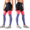 Virus Women's Stay Cool Tri-Color Compression Pant (ECO41) Black/Indigo