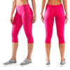 Virus Women's Stay Cool Compression Crop Pants ECO34 RASPBERRY