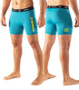 Virus Mens Co36 Phoenix Stay Cool Compression Shorts - Bay Blue