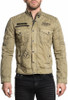 Affliction Mens CAMARO JACKET MILITARY GREEN