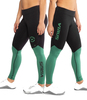 Virus EAU21.5 BIOCERAMIC V2 COMPRESSION PANT - Black/Hunter Green