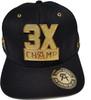 Canelo Alvarez 3X Champ Metal Hat