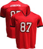 Rob Gronkowski Pro-Style Custom Stitched Red Tampa Bay Buccaneers Jersey