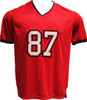 Rob Gronkowski Pro-Style Custom Stitched Red Tampa Bay Buccaneers Jersey Front