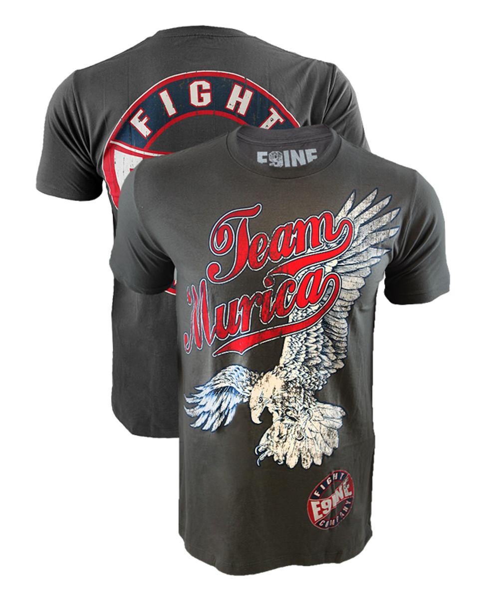 "8160c7e9 Enlisted Nine Team 'Murica Eagles ""SOAR"" Shirt"