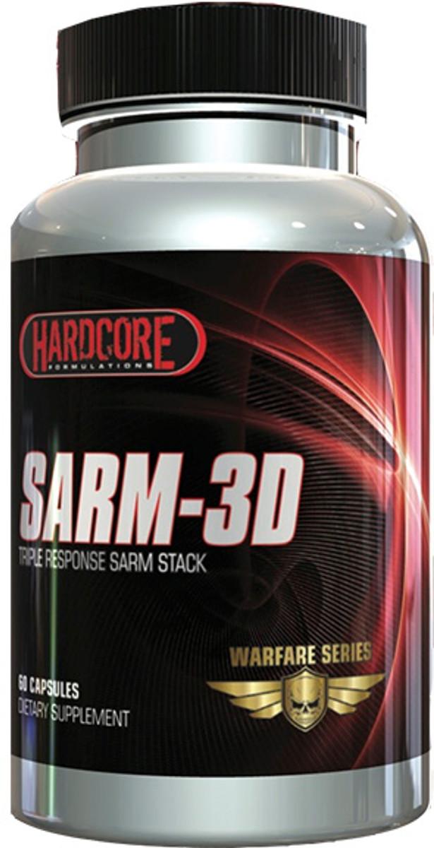 Hardcore Formulations SRM-3D (Buy 2 Get 1 Free)