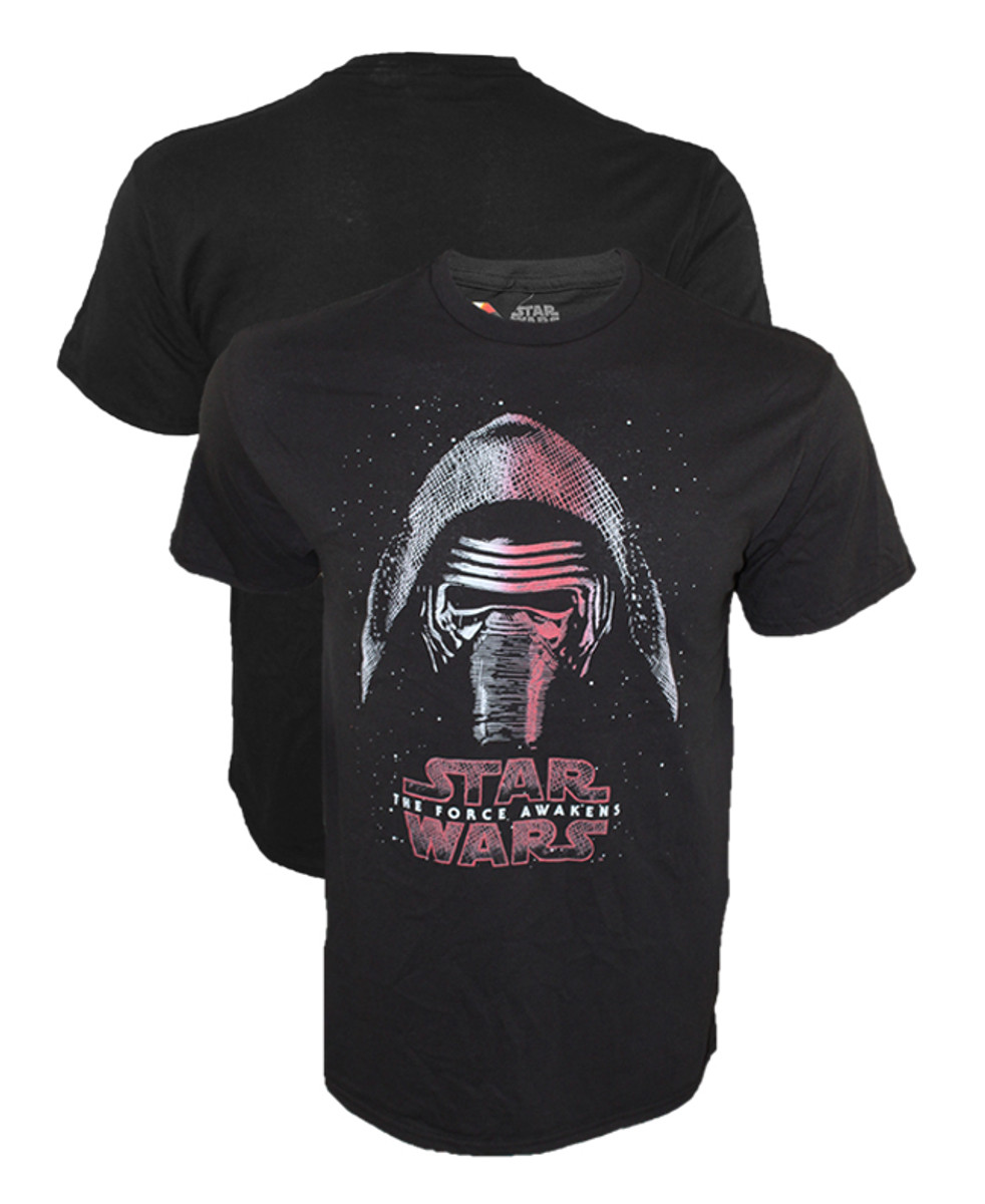 Star Wars Force Awakens Rash Guard for Boys Black