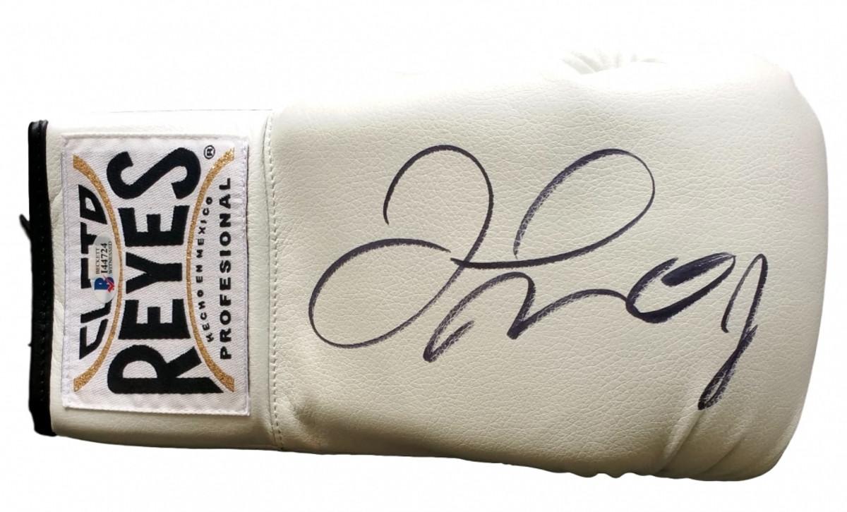 Floyd Mayweather Jr  Signed Cleto Reyes Boxing Glove (Beckett COA)
