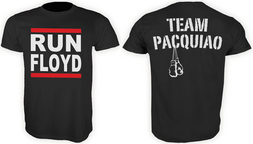 One More Round Team Pacquiao Run Floyd Shirt