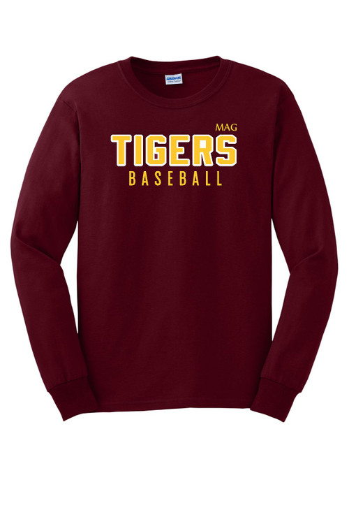 MAG TIGERS LONG SLEEVE TEE