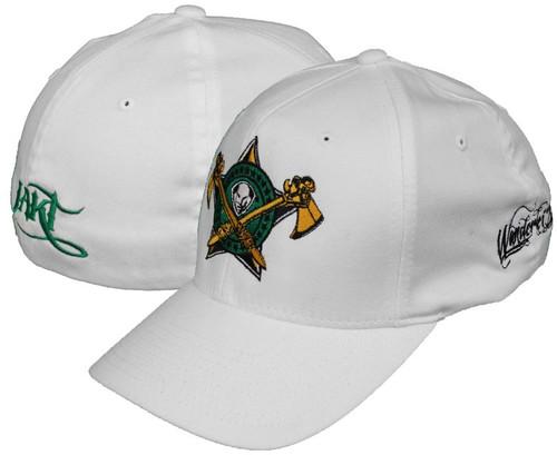 JAKT Apparel Wanderlei Silva 132 Signature WHITE Hat