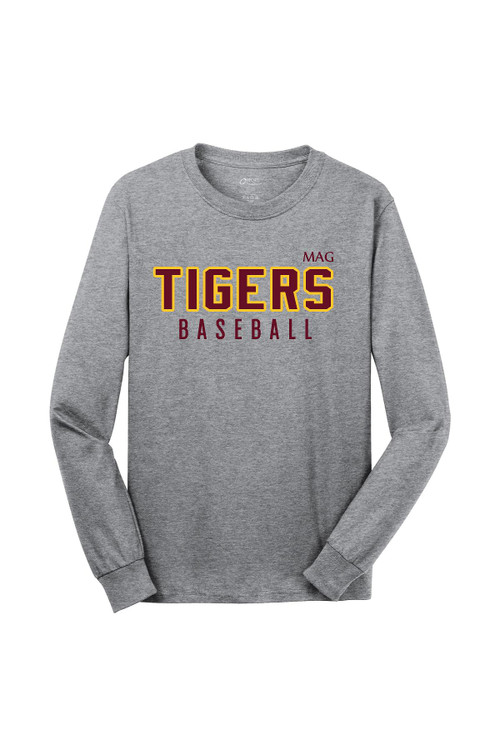 MAG TIGERS LONG SLEEVE TEE GREY