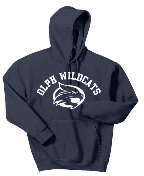 OLPH Wildcats Navy Hoodie